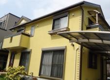 越谷市恩間  S様邸 外壁・屋根塗装工事