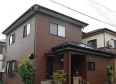 越谷市大房 I様邸 外装・屋根塗装工事