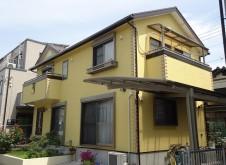 越谷市 S様邸 外装・屋根塗装工事