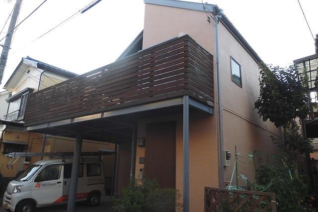 川口市新井宿 A様邸 屋根・外壁の塗装工事
