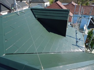 屋根完成3