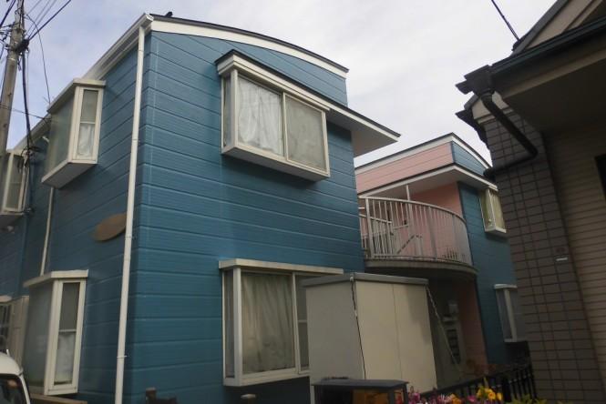 中野区 S様邸 屋根一部重ね張り、屋根・外壁塗装工事