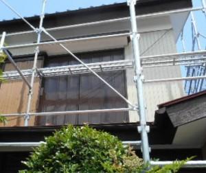 (P)野本タマエ様邸 雨樋塗装 (1)