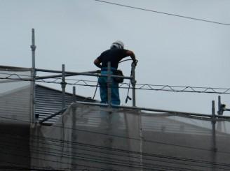岩井邸屋根洗浄